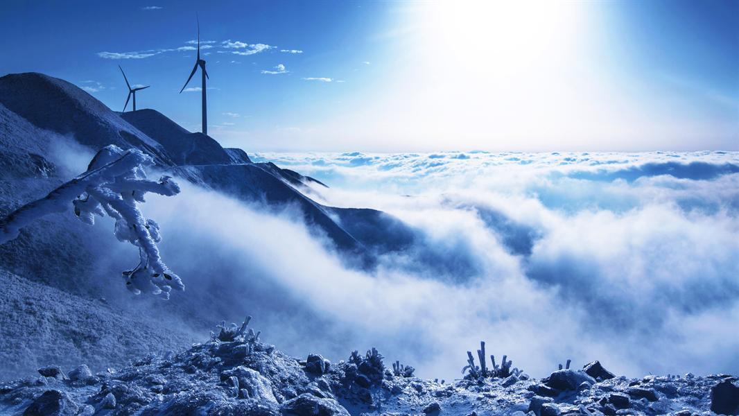 风景图片冬雪 桌面