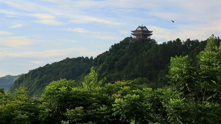 五柳景区风景