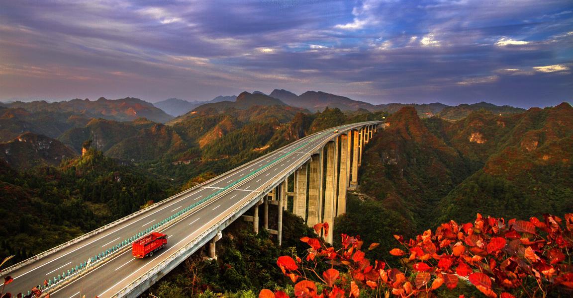 宁张公路沿途风景