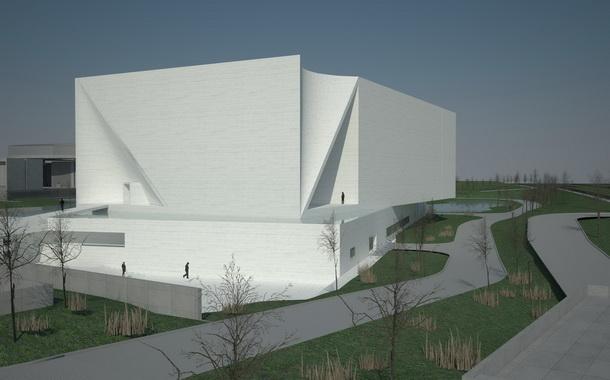 """""""谢子龙表示,这里将被打造成一个有全国影响力的影像艺术馆,以此来"""